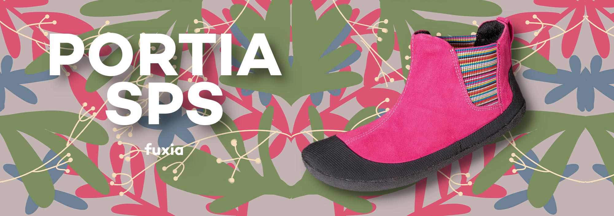 Sole Runner Portia Fuxia