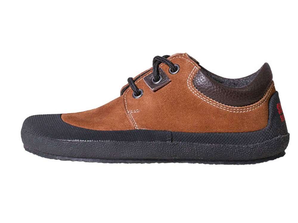 Pan Brown/Black Unisexschuh Gr. 25-29